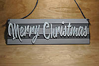 "Табличка ""Merry Christmas"""