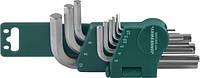 Комплект угловых шестигранников 1,5-10мм, S2 материал, 10 предметов   Jonnnesway H01SM109S