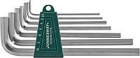 Комплект угловых шестигранников Long 2,5-10 мм, S2 материал, 7 предметов   Jonnnesway H02SM107S
