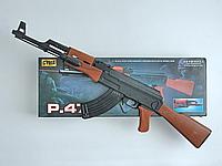 Автомат Калашникова с лазером и фонариком в коробке (ОПТОМ) P.47