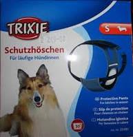 Trixie TX-23241 трусы для собак S (30-37)см,синие.