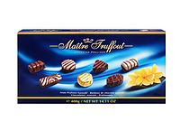 Шоколадные конфеты, ассорти Maitre Truffout blue, 400 г