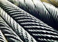 Канат из нержавеющей стали  ДИН 3053 (ГОСТ 3063-72) 12,00 мм,  Конструкция 1х19