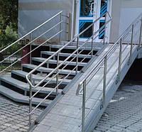 Устройство пандуса для инвалидов