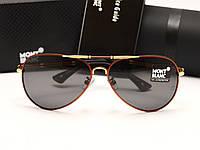 Мужские солнцезащитные очки Montblanc 375 цвет оправы красный