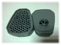 Сменный угольный фильтр к маске(крепление на закрутку) пара