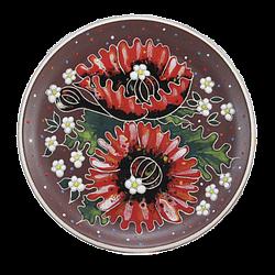 Тарелки средние круглые керамические