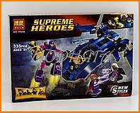 Конструктор аналог LEGO Super Heroes 76022 Bela Люди Икс против Стража арт. 10250
