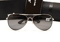 Мужские солнцезащитные очки Montblanc 375 цвет серый, фото 1