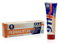 911 Ревмалгон гель для тела 100 мл.