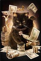 Набор алмазной вышивки Богатый кот KLN 45 х 30 см (арт. FS 026)