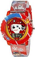 Детские часы Щенячий патруль (Paw Patrol) с подсветкой., фото 1