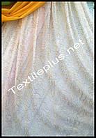 Тюль фатинка с золотой ниткой Турция