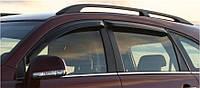 Ветровики на окна тонкие (тониров.) EGR CHEVROLET CAPTIVA 2006- #