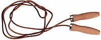 Скакалка кожаная с деревянными ручками Rucanor 13969-01 Руканор