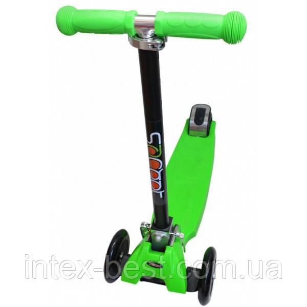 Самокат maxi plus (арт.H-333) scooter trolo micro трехколесный 21 st