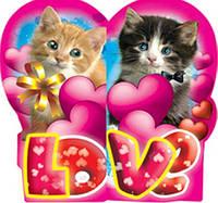 Мини открытки валентинки/с любовью
