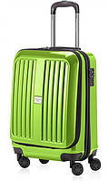 Пластиковый дорожный малый чемодан 45 л. HAUPTSTADTKOFFER xberg mini apple салатовый