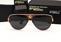 Мужские солнцезащитные очки Porsche Design 8580 цвет красный