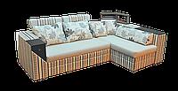 """Угловой диван """"Венеция"""" в сером цвете"""