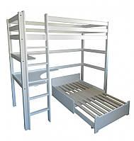 Кровать двухъярусная Л-305 0,9