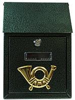 Поштова скринька ProfitM СП-2 185х275х70 Зелений антик