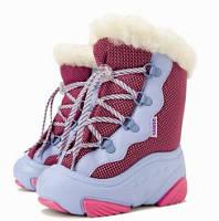 Детские зимние дутики демар Snow Mar pink