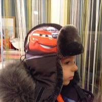 Зимняя шапка для мальчика Тачки