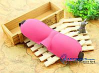 3D очки для сна с бамбуковым волокном, розовый цвет