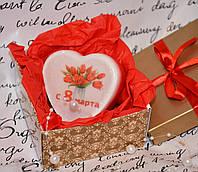 Подарок на 8 Марта! мыло-открытка  (3)