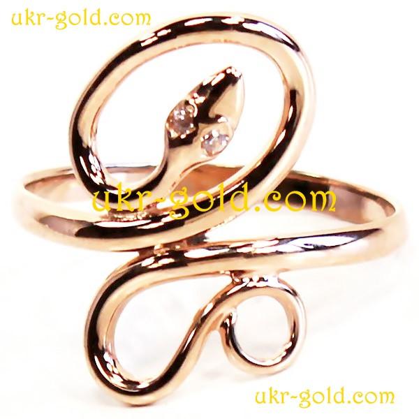 Кільце із золота у вигляді змії