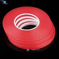 Двусторонний прозрачный, силиконовый скотч ширина 10 мм (30 метров)