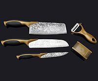Набор ножей из дамасской стали 5 предметов