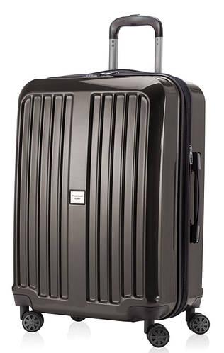 Большой чемодан из пластика 87 л. HAUPTSTADTKOFFER xberg midi graphite графитовый