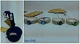 Серебряное кольцо 925 пробы с накладками золота 375 пробы, фото 7