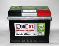 Аккумулятор Monbat 6СТ-65 SMF Евро