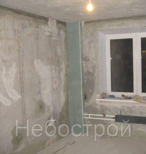 Монтаж гипсокартона (откосы) / стояки (одна сторона)  - Небострой в Одессе
