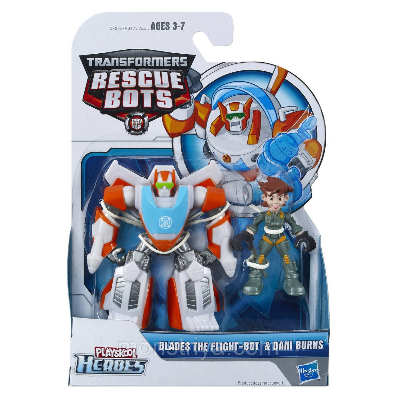 Боты спасатели, Playskool Heroes Transformers Фигурка Bots Blades Dani Burns