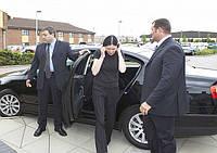 Аренда автомобиля с водителем и телохранителем.