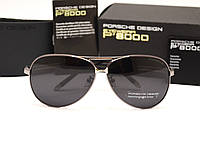 Мужские солнцезащитные очки Porsche Design 8887 цвет оправы серый
