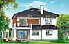 MS211. Проект современного двухэтажного дома c подвалом