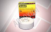 Scotch 70 самослипающаяся силиконовая резиновая изоляционная лента (25 мм. х 9 м.)