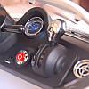Детский Электромобиль Mercedes M 2760 EBR-3 красный, колеса EVA, ручка для транспортировки, пульт Bluetooth, фото 5