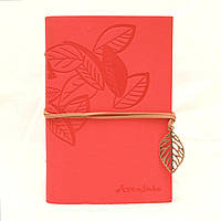 Винтажный блокнот Aventura Серия Nature La Femme Edition  (розовый)