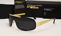 Мужские солнцезащитные очки Porsche Design 8517 черные с золотом