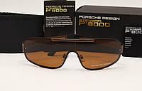 Мужские солнцезащитные очки Porsche Design 8517 коричневый цвет