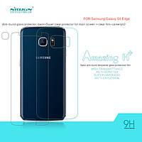 Защитное стекло Nillkin Anti-Explosion Glass H+ (з. сторона) для Samsung Galaxy S6 Edge+пленка