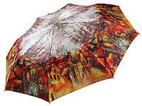 Женский зонт Zest Загадочный город САТИН ( автомат ) арт. 53624-37