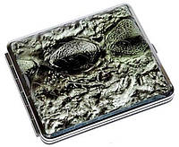 Элегантный портсигар S.QUIRE 340022-75 зеленый