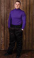 """Мужские рабочие утепленные брюки зимние """"Эверест"""" черные"""
